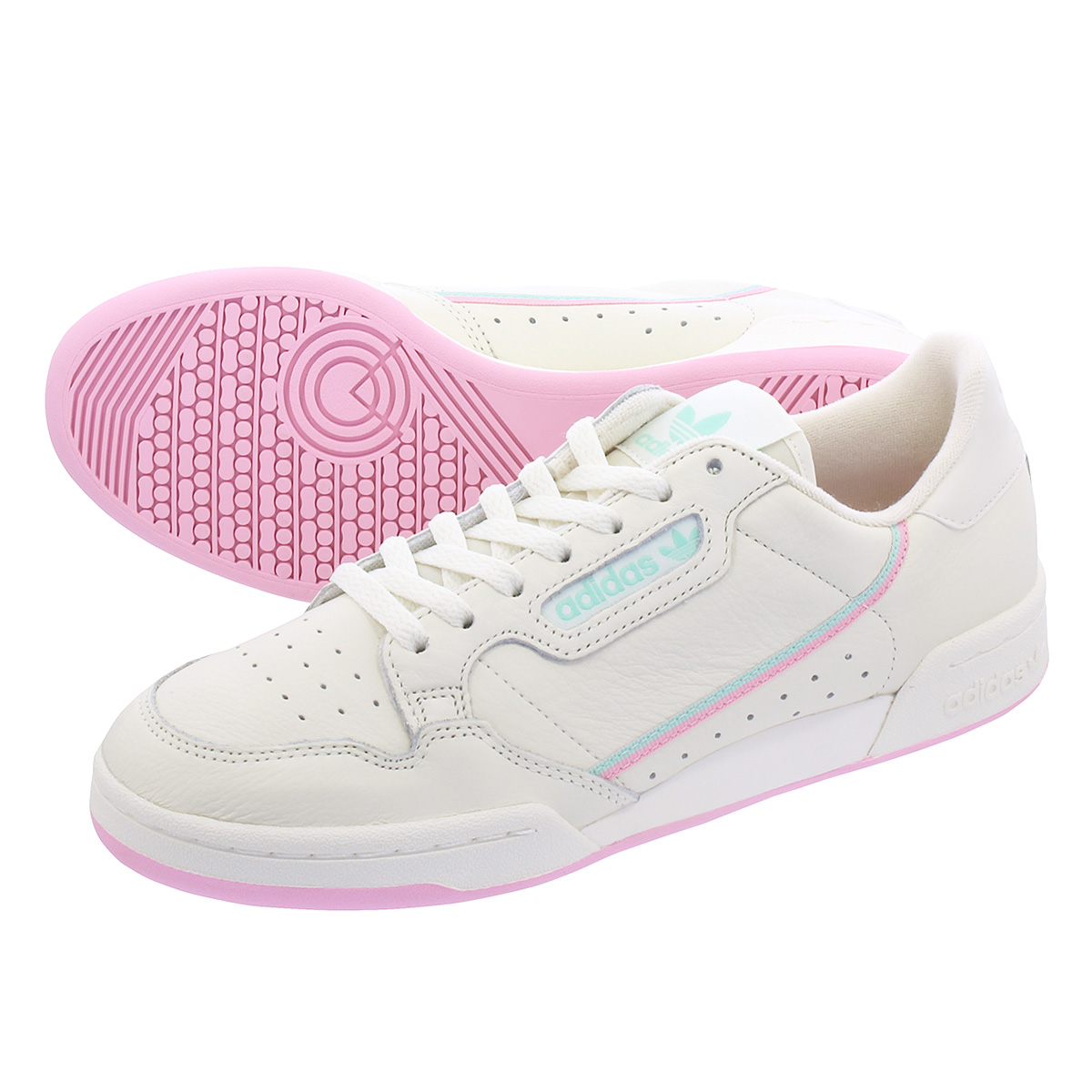 adidas Continental 80 W (Ftwr White True Pink Clear Pink)