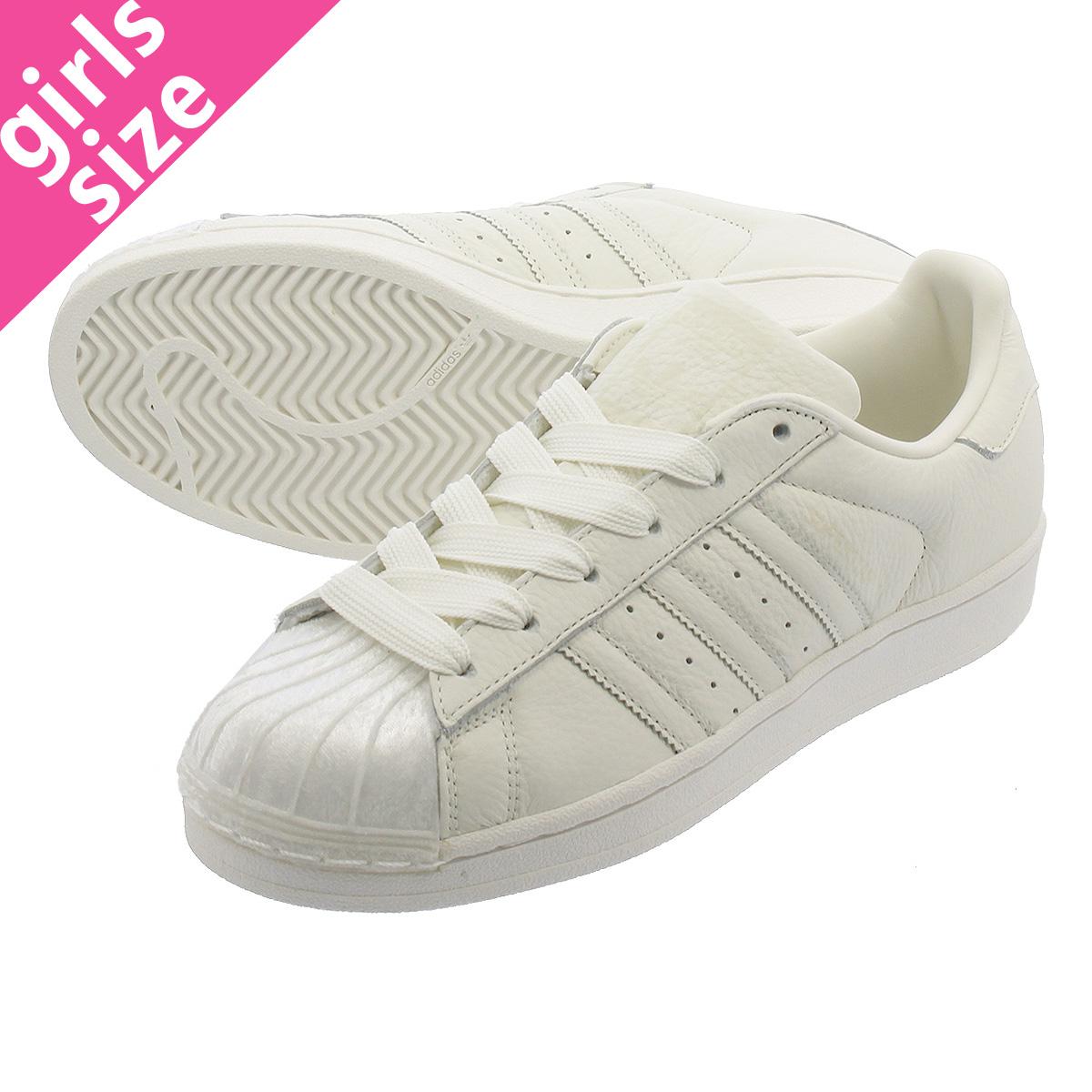 【大人気の女の子サイズ♪】 adidas SUPERSTAR W アディダス スーパースター W OFF WHITE/OFF WHITE/OFF WHITE cg6010