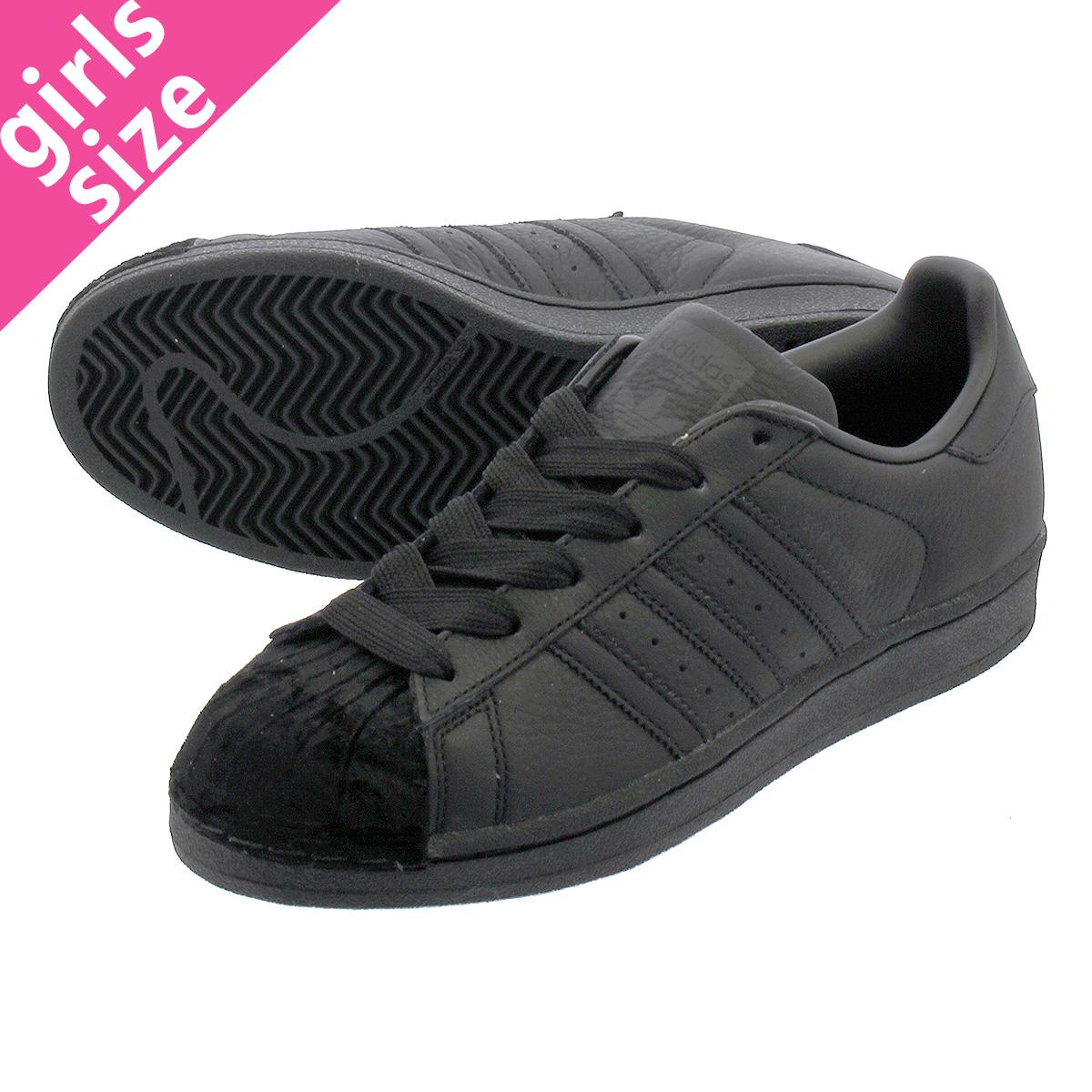 【大人気の女の子サイズ♪】 adidas SUPERSTAR W アディダス スーパースター W CORE BLACK/CORE BLACK/CORE BLACK