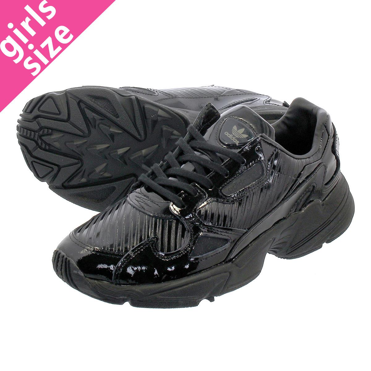 【大人気の女の子サイズ♪】 adidas ADIDASFALCON W アディダス アディダスファルコン ウィメンズ CORE BLACK/CORE BLACK/COLLEGE PURPLE cg6248