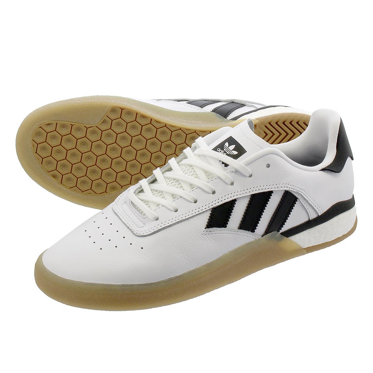 adidas Skateboarding 3ST.004 Shoes (white core black gum)