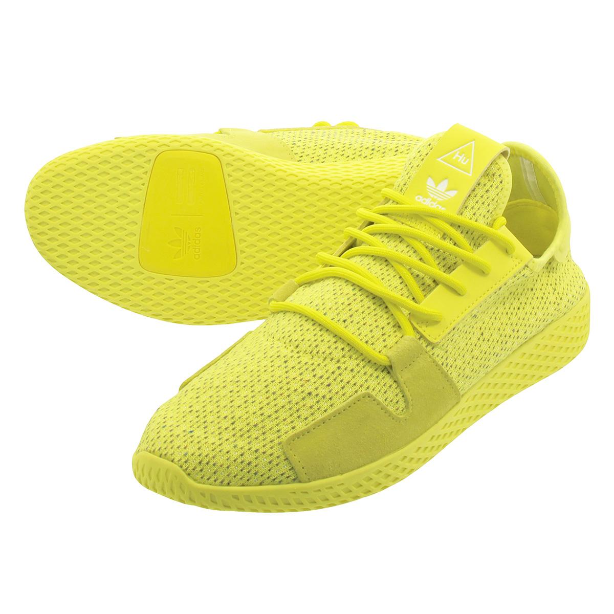 adidas PW TENNIS HU V2 【adidas Originals x PHARRELL WILLIAMS】 アディダス ファレル ウィリアムス テニス HU V2 SHOCK YELLOW/SHOCK YELLOW/RUNNING WHITE db3329