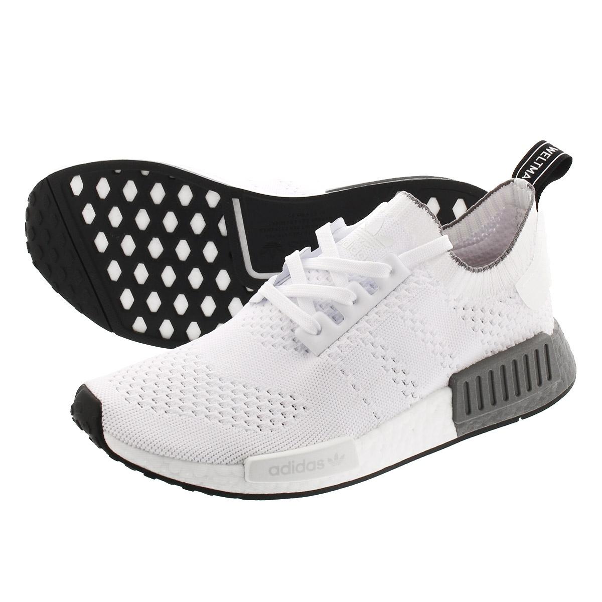 Nike NMD R1 Grey Camo Heel Sneakers Shoes