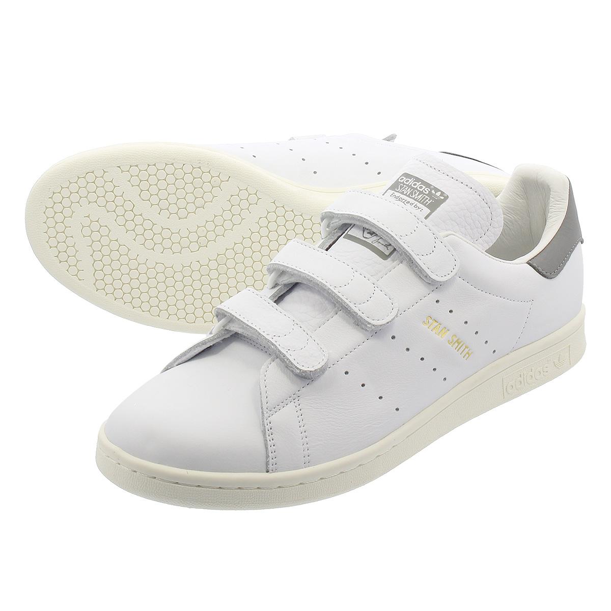 adidas STAN SMITH CF 【adidas Originals】 アディダス スタンスミス CF RUNNING WHITE/RUNNING WHITE/GREY ee8542