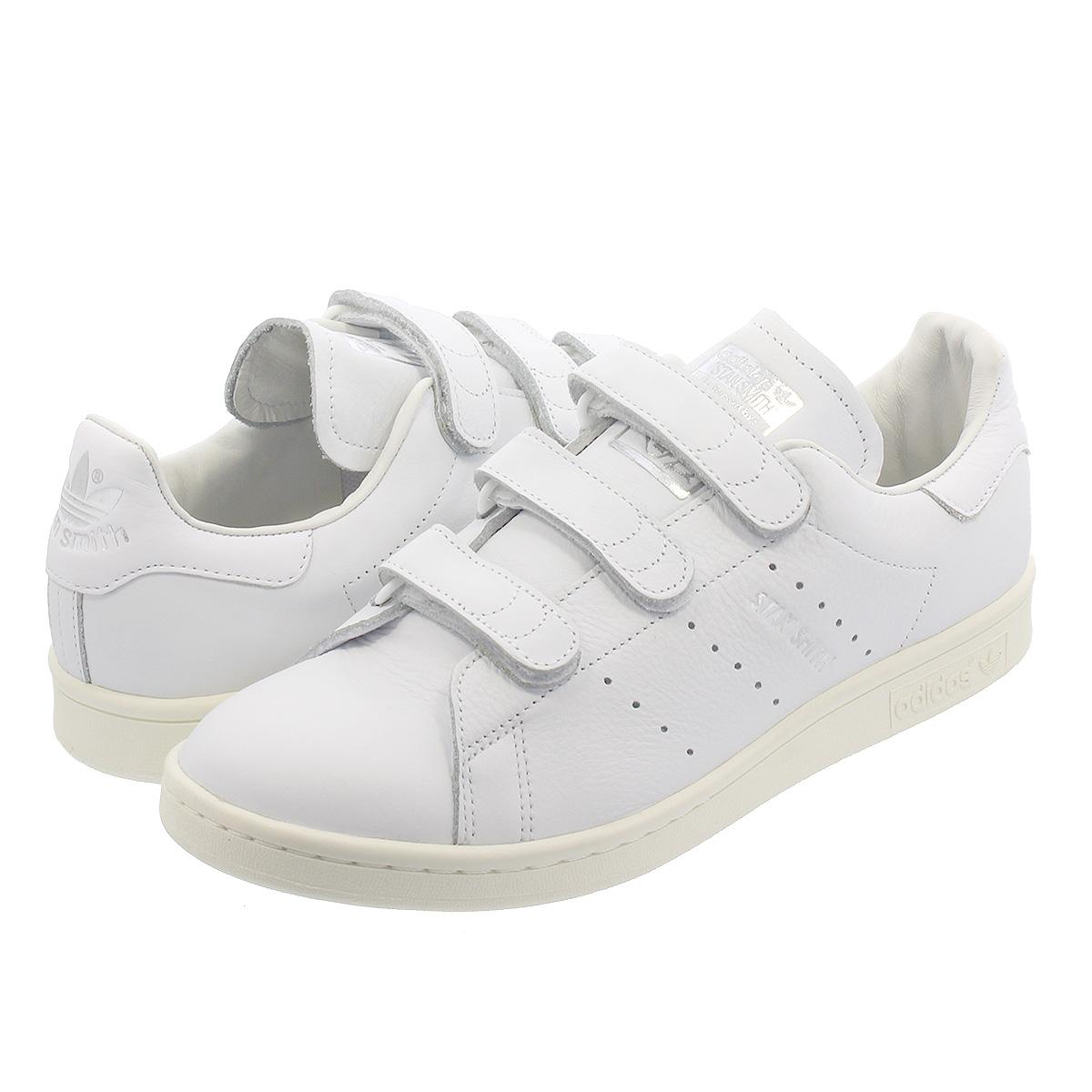 adidas STAN SMITH CF 【adidas Originals】 アディダス スタンスミス CF RUNNING WHITE/RUNNING WHITE/SILVER ee8543