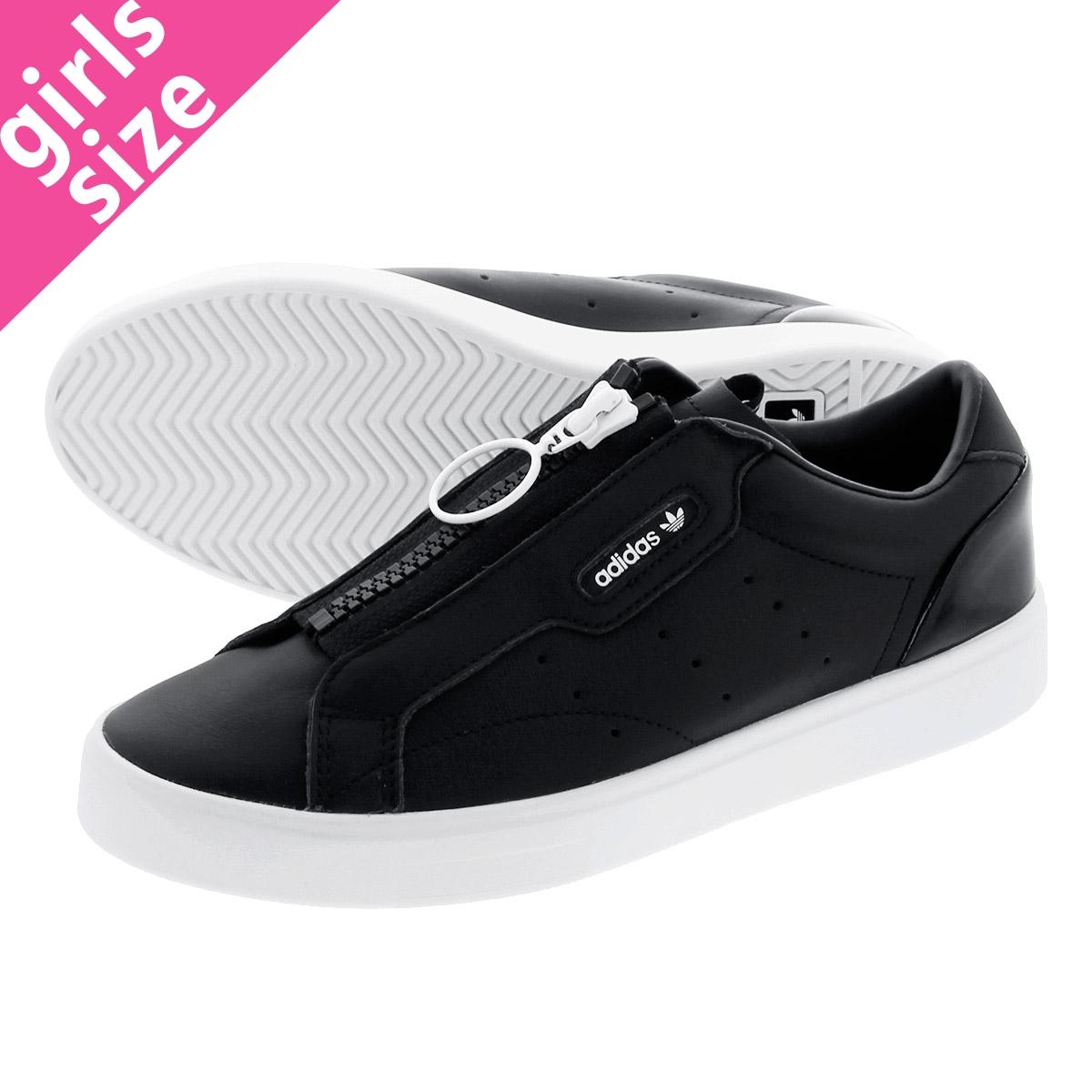 adidas sleek damen weiß schwarz