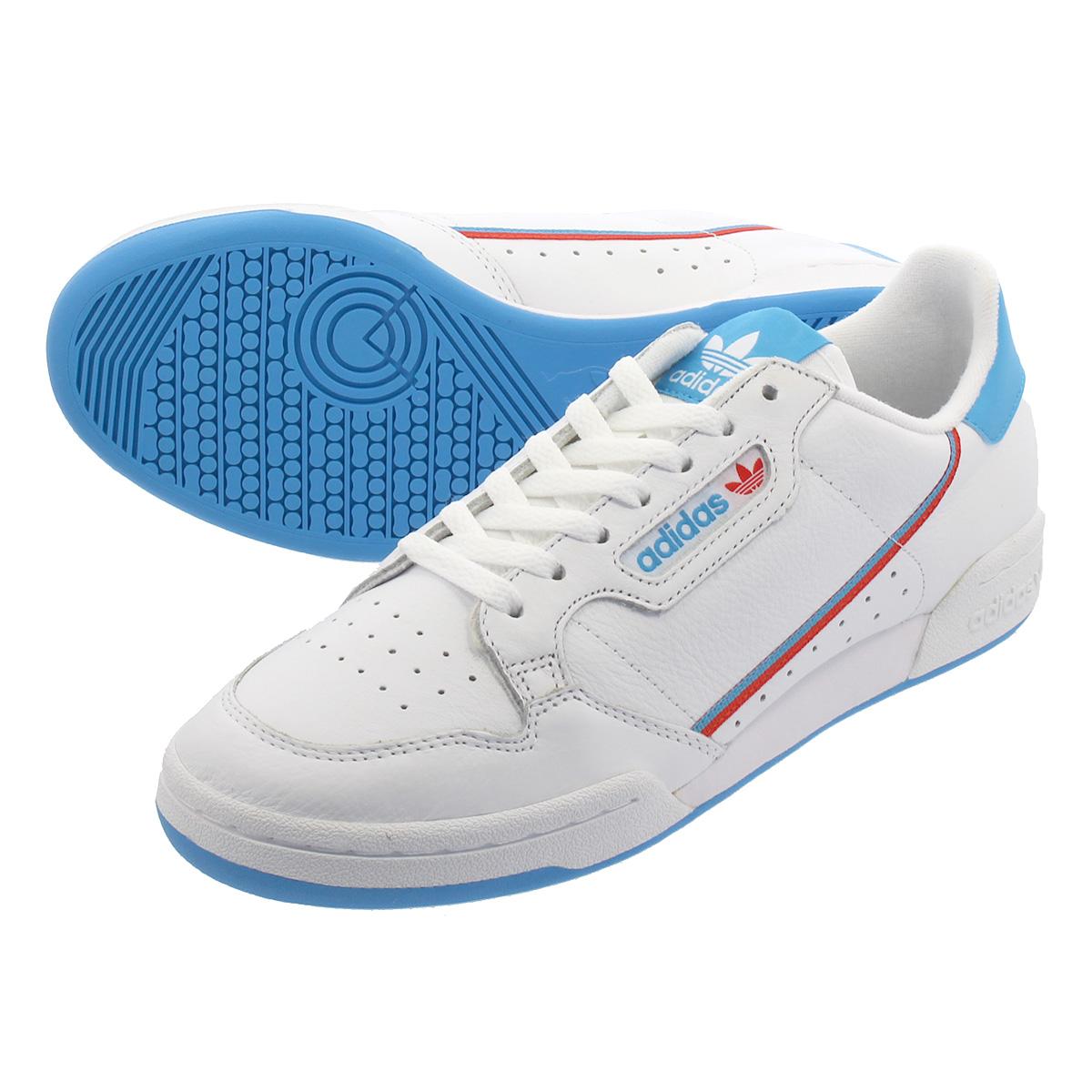 adidas CONTINENTAL 80 アディダス コンチネンタル 80 RUNNING WHITE/SHOCK CYAN ef2942