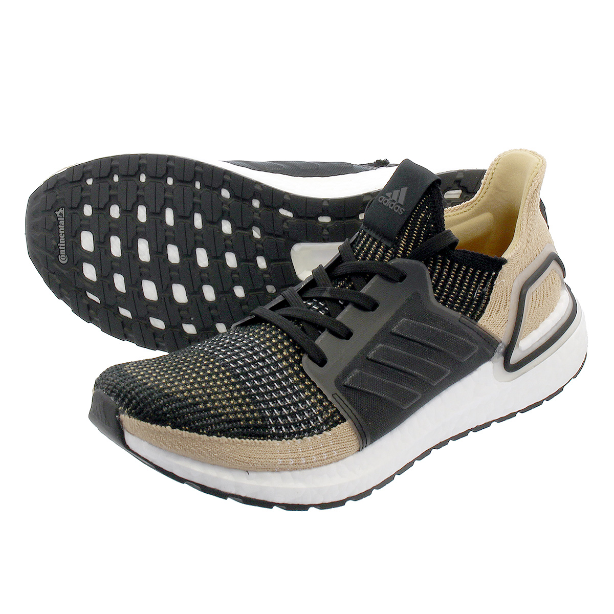adidas ULTRA BOOST 19 アディダス ウルトラ ブースト 19 CORE BLACK/RAW SAND/GREY SIX f35241