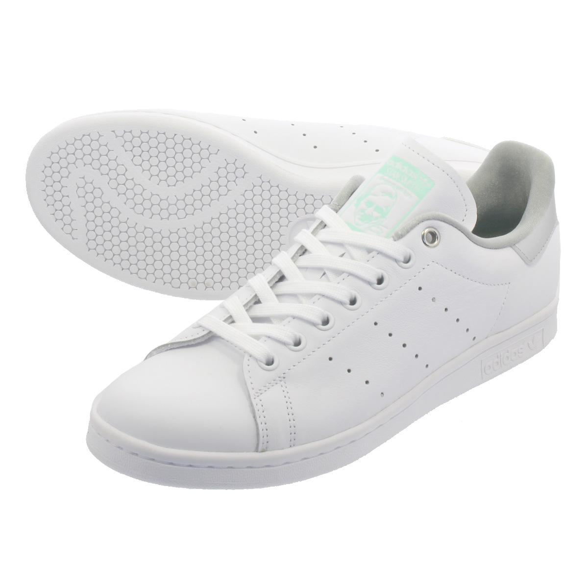 【大人気の女の子サイズ♪】 adidas STAN SMITH W アディダス スタンスミス W RUNNING WHITE/SILVER MET/CLEAR MINT g27907