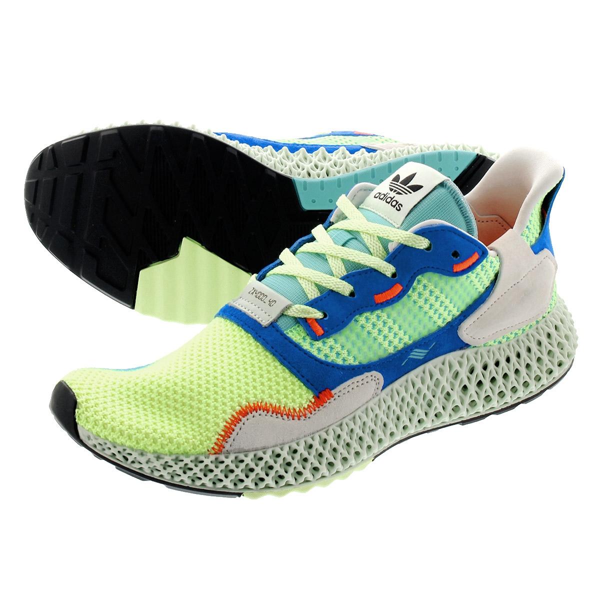 Adidas HI adidas 4D 4000 4000 YELLOWLINEN GREENEASY 4D RES ZX MINT ZX ef9623 PXZwiuTklO