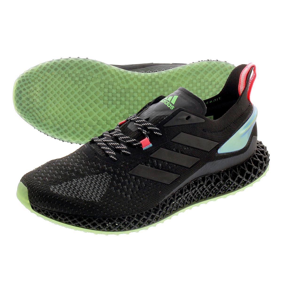 <title>送料無料 ADIDAS アディダス スニーカー 靴 ランニングシュース メンズ レディース ホワイト 黒 新商品 ブラック ピンク fw7093 毎日がお得 値下げプライス adidas 4D RUN 2.0 ラン CORE BLACK SIGNAL PINK</title>