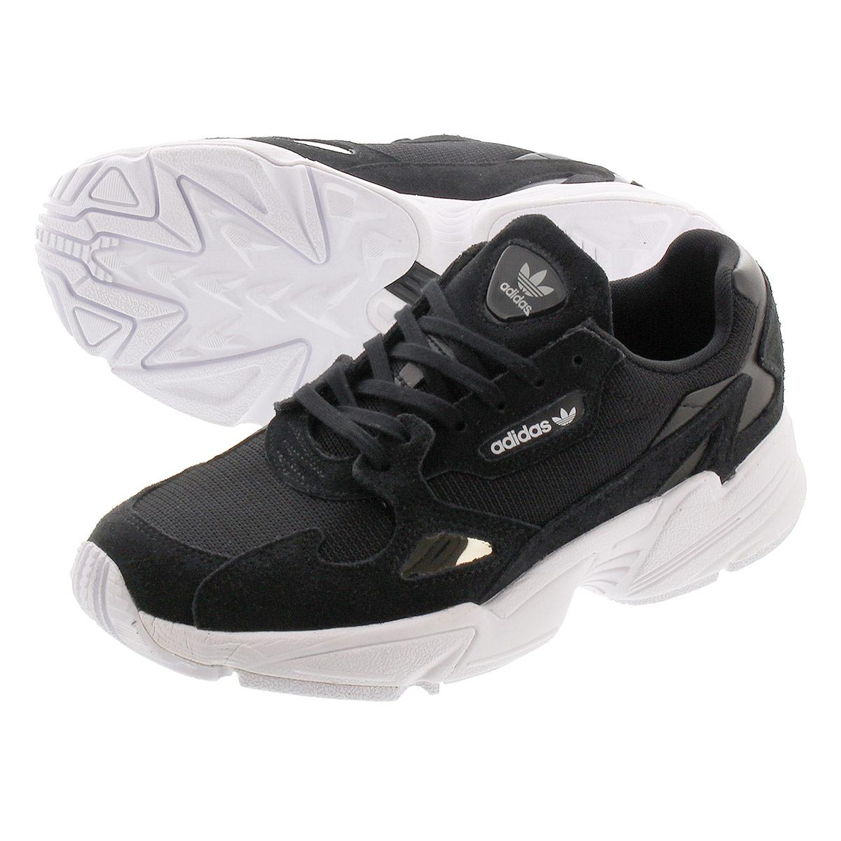 送料無料 ADIDAS アディダス レディース 靴 スニーカー ブラック ホワイト 黒 激安価格と即納で通信販売 白 b28129 ADIDASFALCON ウィメンズ 激安挑戦中 WHITE BLACK 毎日がお得 値下げプライス RUNNING CORE adidas アディダスファルコン W