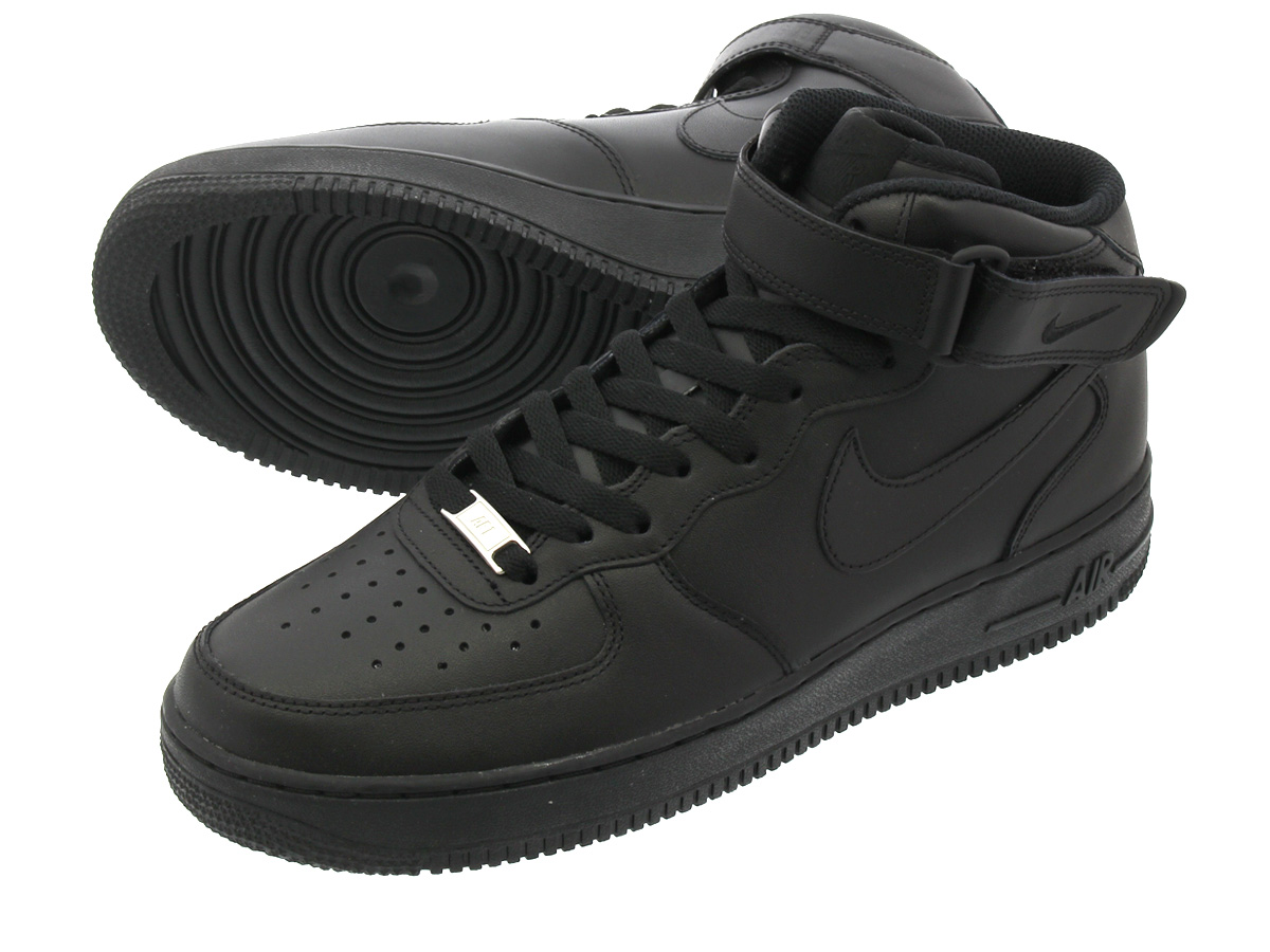 35a92791be6 LOWTEX PLUS  NIKE AIR FORCE 1 MID 07 BLACK