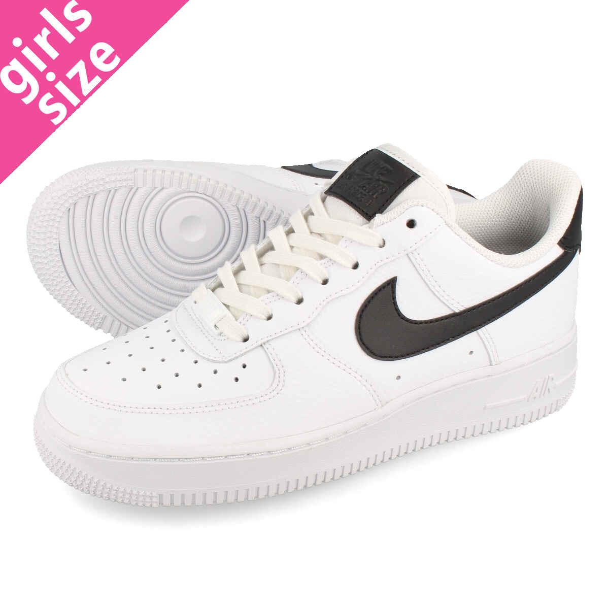 watch a66c1 b553b NIKE WMNS AIR FORCE 1 07 Nike women air force 1 07 WHITE WHITE BLACK  315,115-152