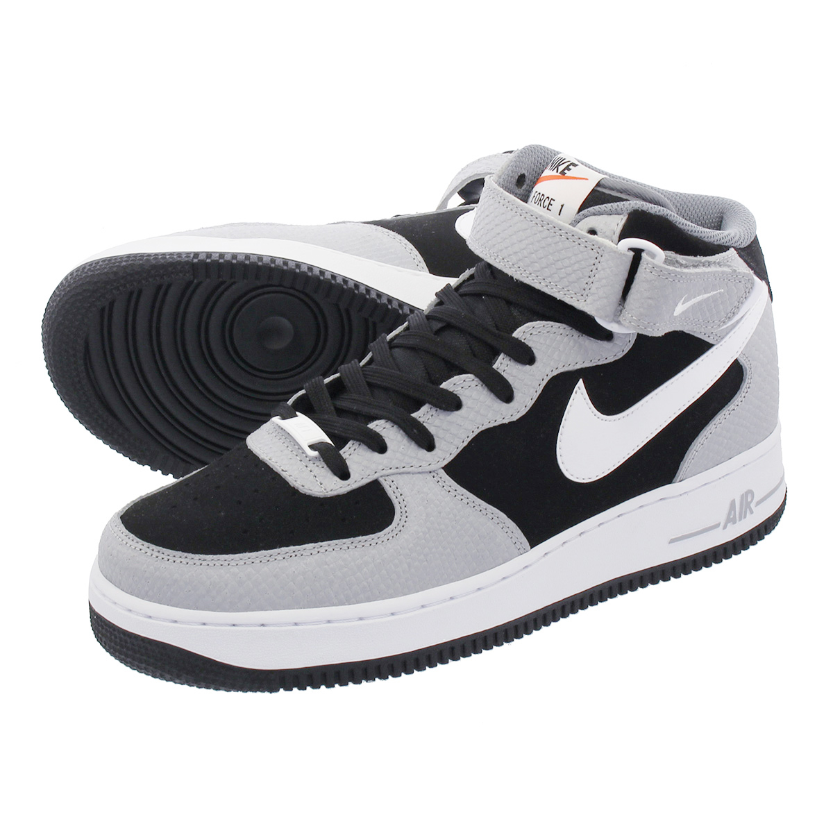 new concept 983fa abf2a LOWTEX PLUS: NIKE AIR FORCE 1 MID '07 Nike air force 1 mid '07 BLACK ...