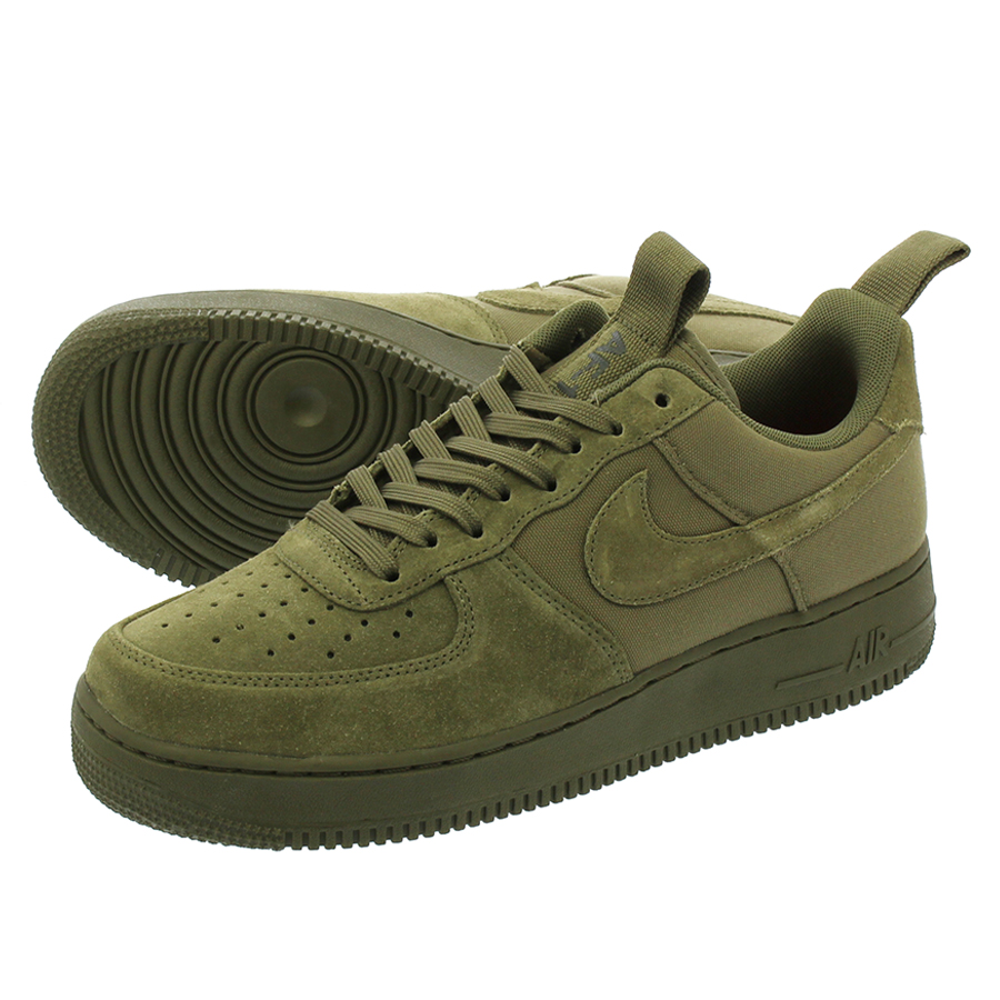 NIKE AIR FORCE 1 '07 CNVS ナイキ エア フォース 1 '07 キャンバス MEDIUM OLIVE/MEDIUM OLIVE/SEQUOIA 579927-200