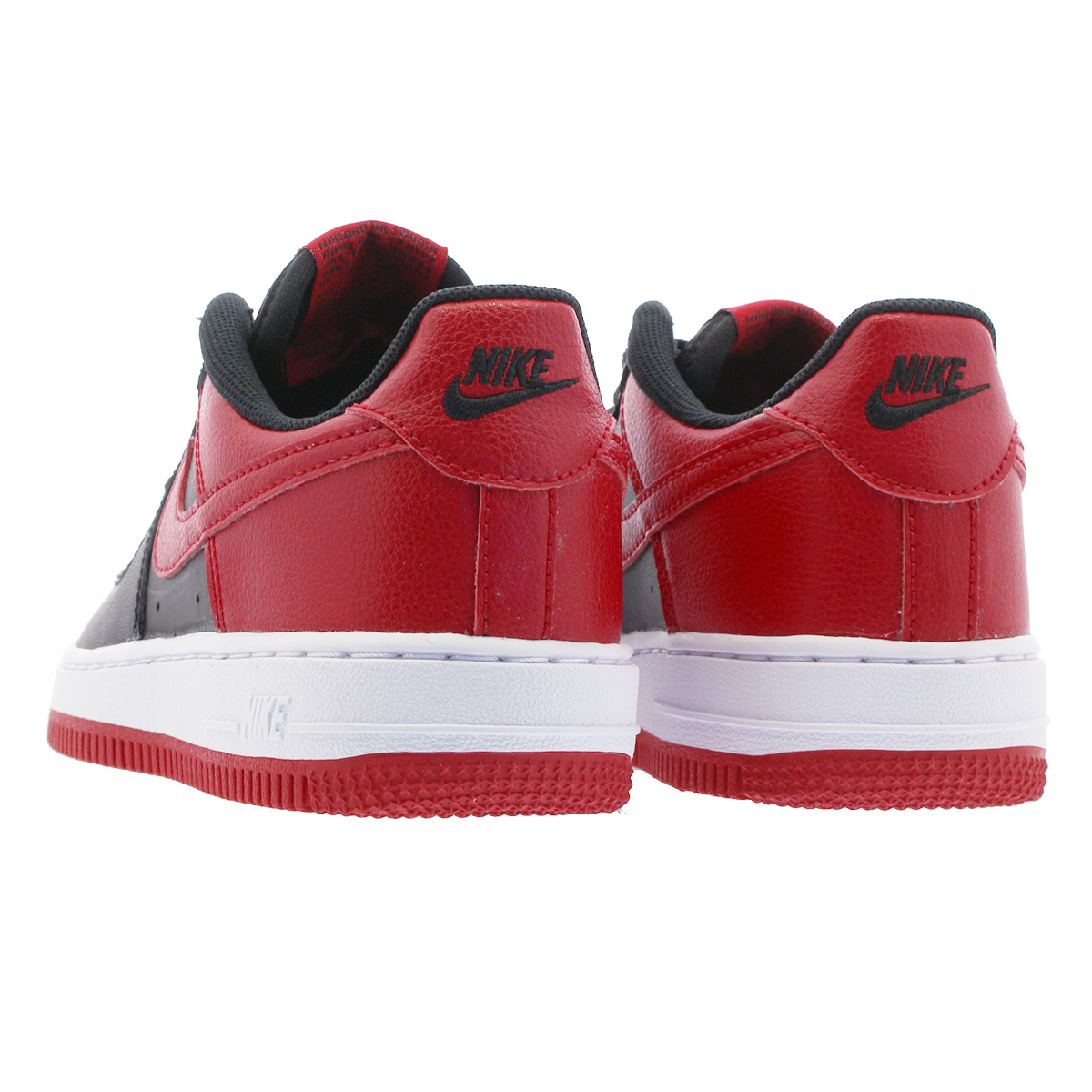NIKE AIR FORCE 1 PS Nike air force 1 PS BLACKGYM REDWHITE 596,729 016