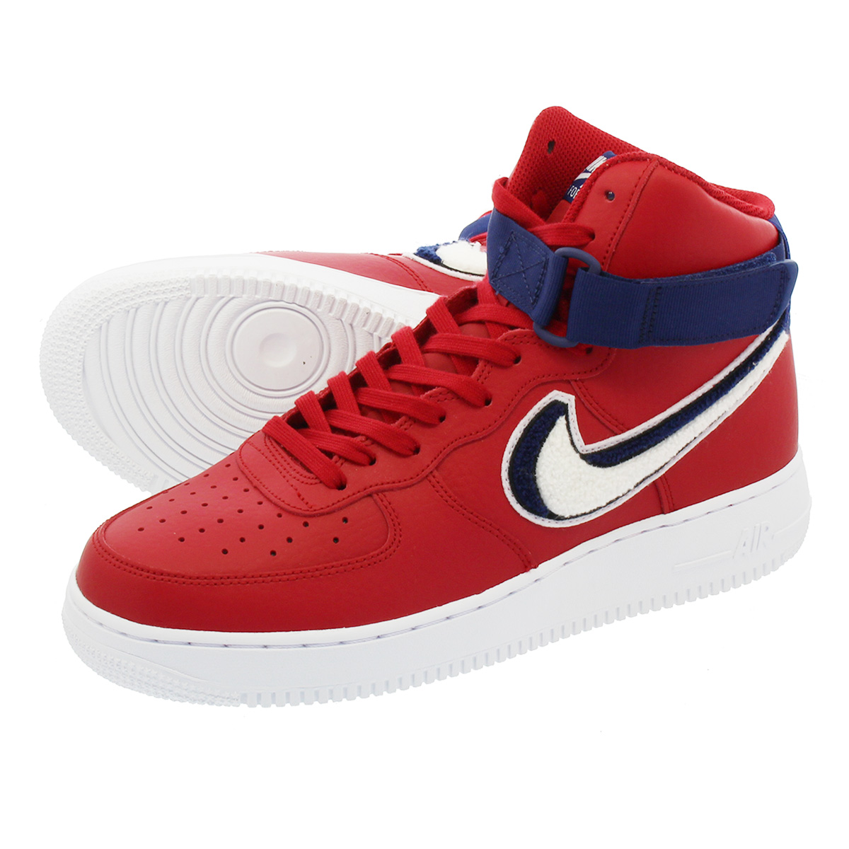 403 Redwhitevarsity 1 Force Blue Lv8 Gym Nike 806 High Air 603 07 dBCxoe
