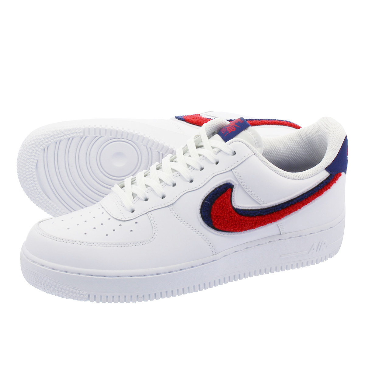 507a6117c54 LOWTEX PLUS: NIKE AIR FORCE 1 '07 LV8 Nike air force 1 '07 LV8 WHITE ...