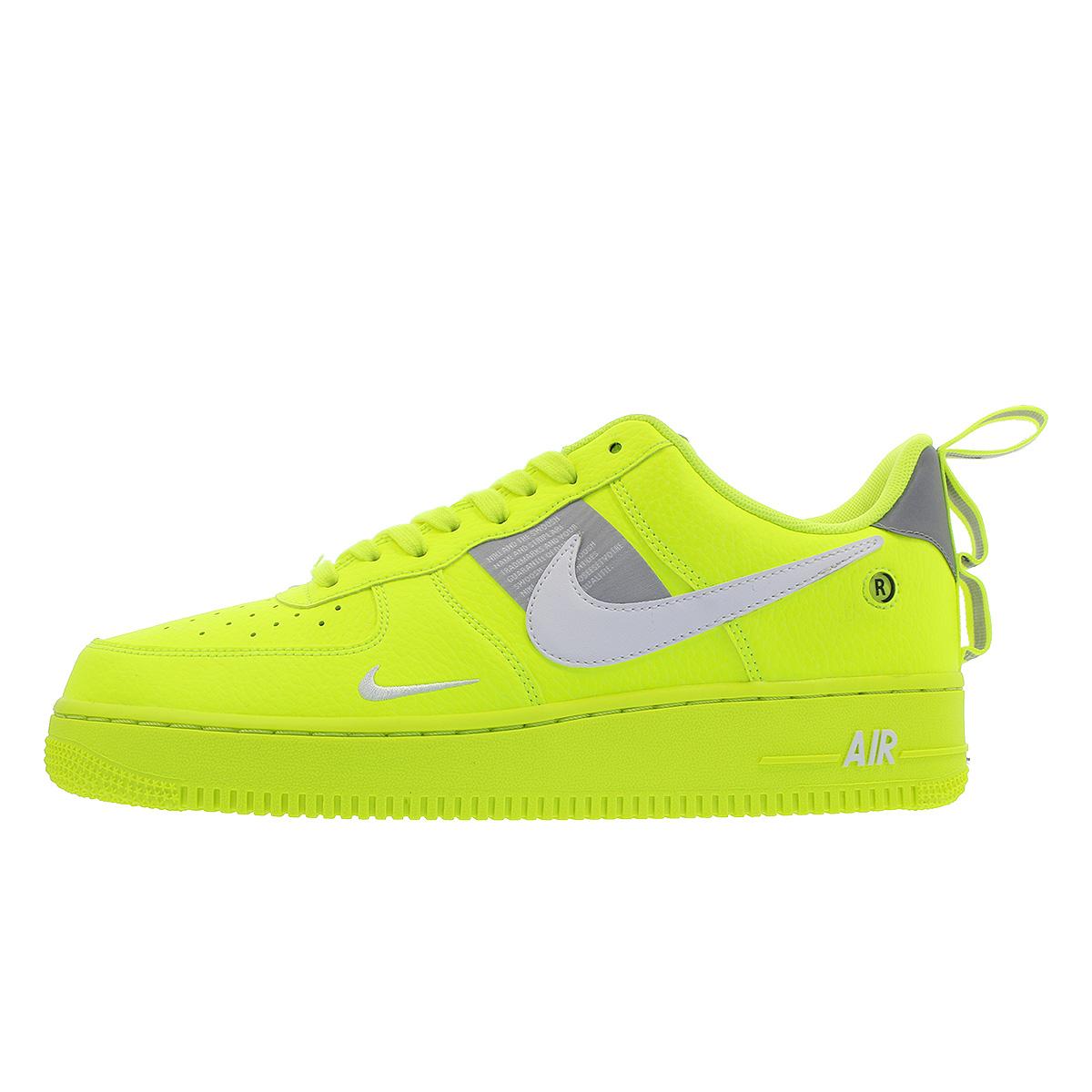 Nike Air Force 1 07 Lv8 Utility Nike Air Force 1 07 Lv8 Utility Volt White Black Wolf Grey Aj7747 700