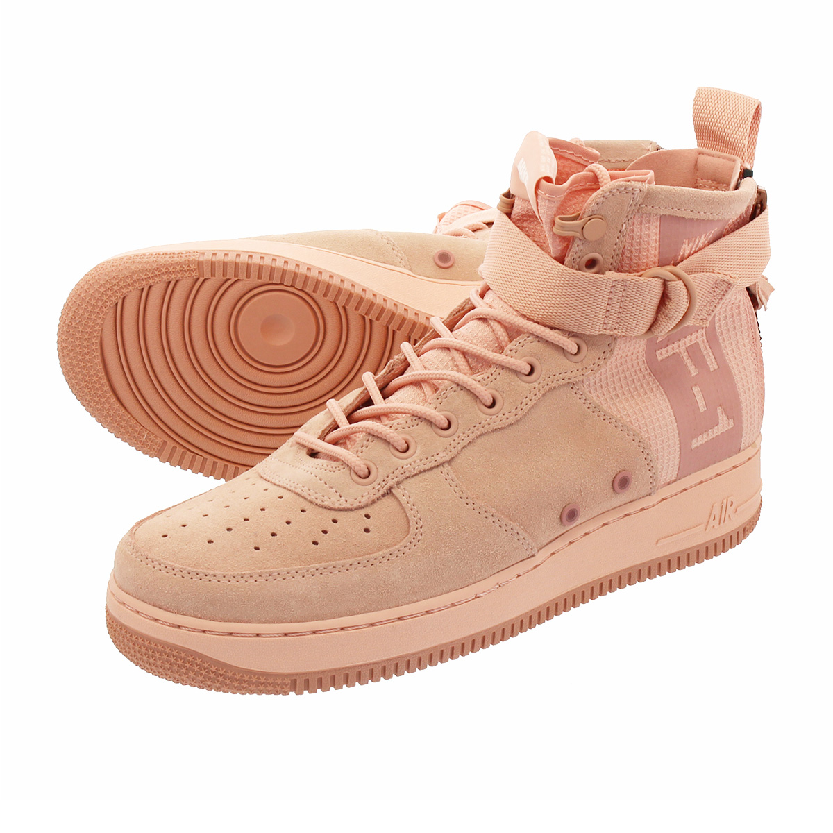 innovative design classic styles stable quality NIKE SPECIAL FIELD AIR FORCE 1 MID SUEDE Nike special field air force 1 mid  suede CORAL STARDUST/RED STARDUST