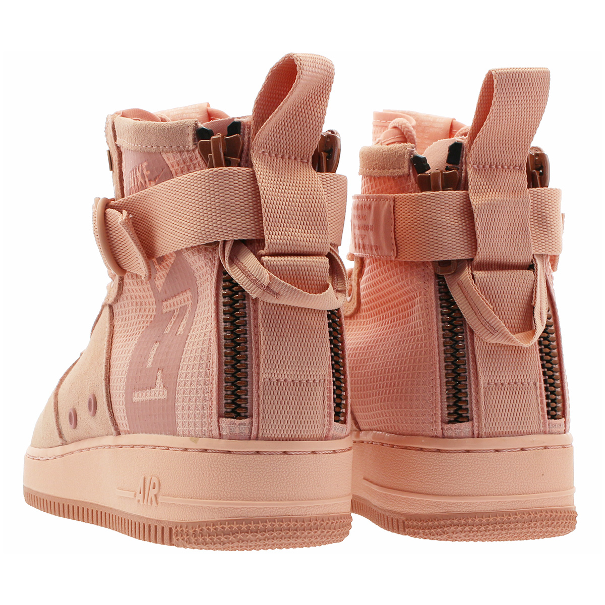 NIKE SPECIAL FIELD AIR FORCE 1 MID SUEDE Nike special field air force 1 mid  suede CORAL STARDUST/RED STARDUST