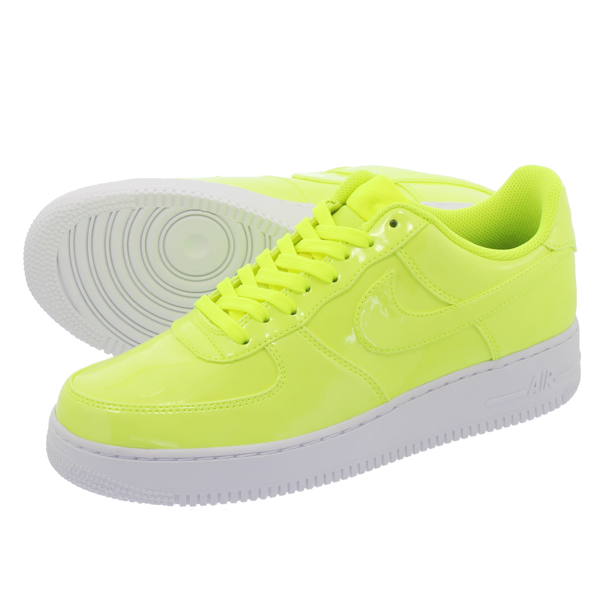 innovative design 329bc 6b57e NIKE AIR FORCE 1  07 LV8 UV Nike air force 1  07 LV8 UV VOLT WHITE