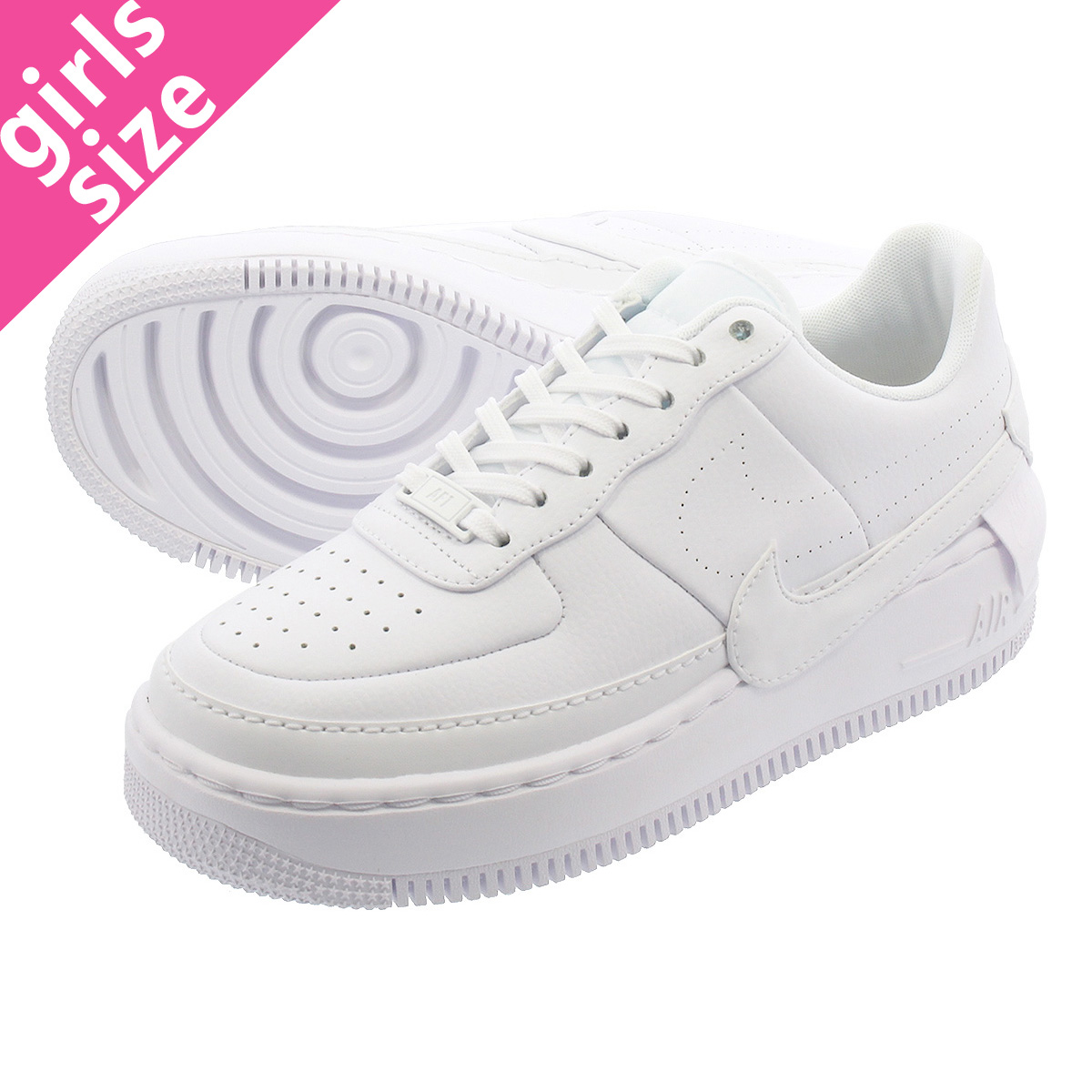 c4423f783814 NIKE WMNS AIR FORCE 1 JESTER XX Nike women air force 1 Jester XX  WHITE WHITE BLACK ao1220-101