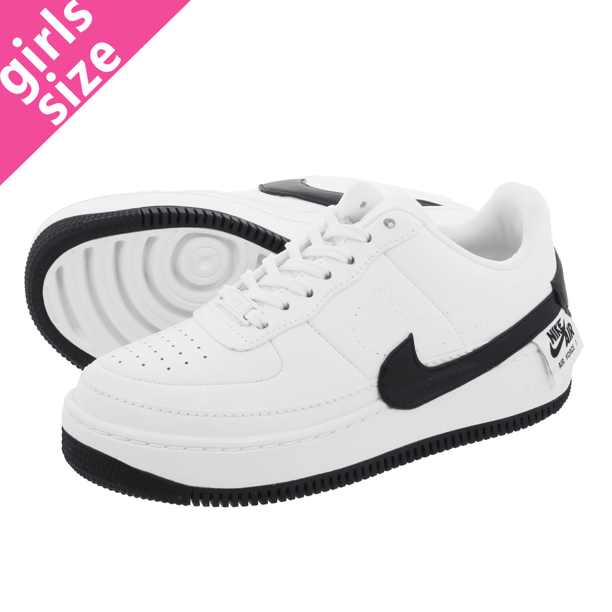 online store f2a21 6815d NIKE WMNS AIR FORCE 1 JESTER XX Nike women air force 1 Jester XX  WHITE BLACK ao1220-102