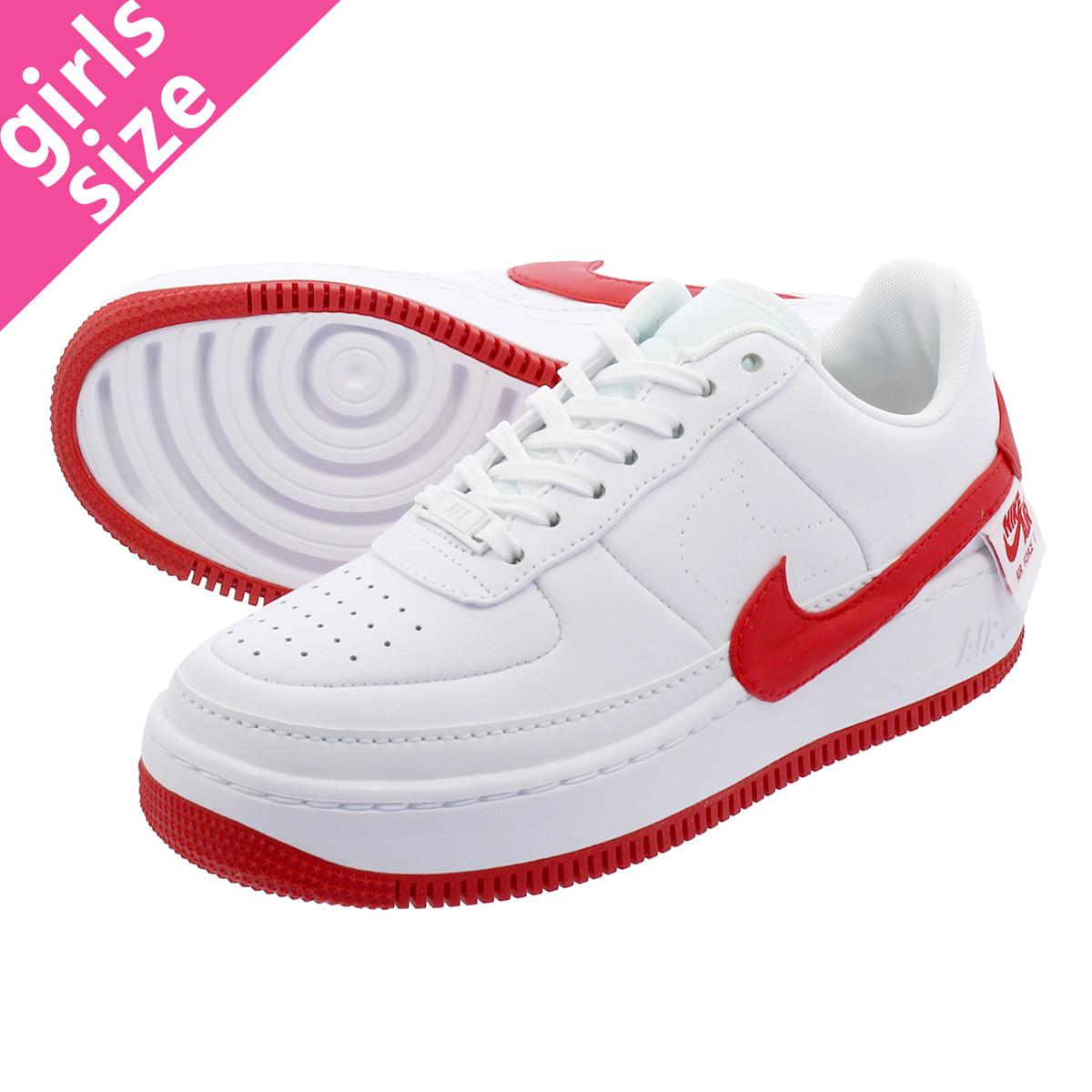 LOWTEX PLUS  NIKE WMNS AIR FORCE 1 JESTER XX Nike women air force 1 Jester  XX WHITE UNIVERSITY RED ao1220-106  810da4969