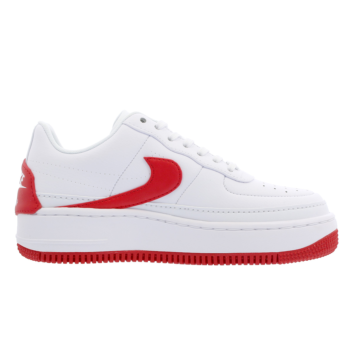 NIKE WMNS AIR FORCE 1 JESTER XX Nike women air force 1 Jester XX WHITE UNIVERSITY  RED ao1220-106 2e52cd17f