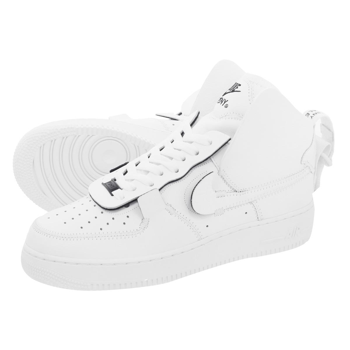 026542e3b9f9fc NIKE X PSNY AIR FORCE 1 HIGH Nike X public school New York air force 1 high  WHITE WHITE ao9292-101