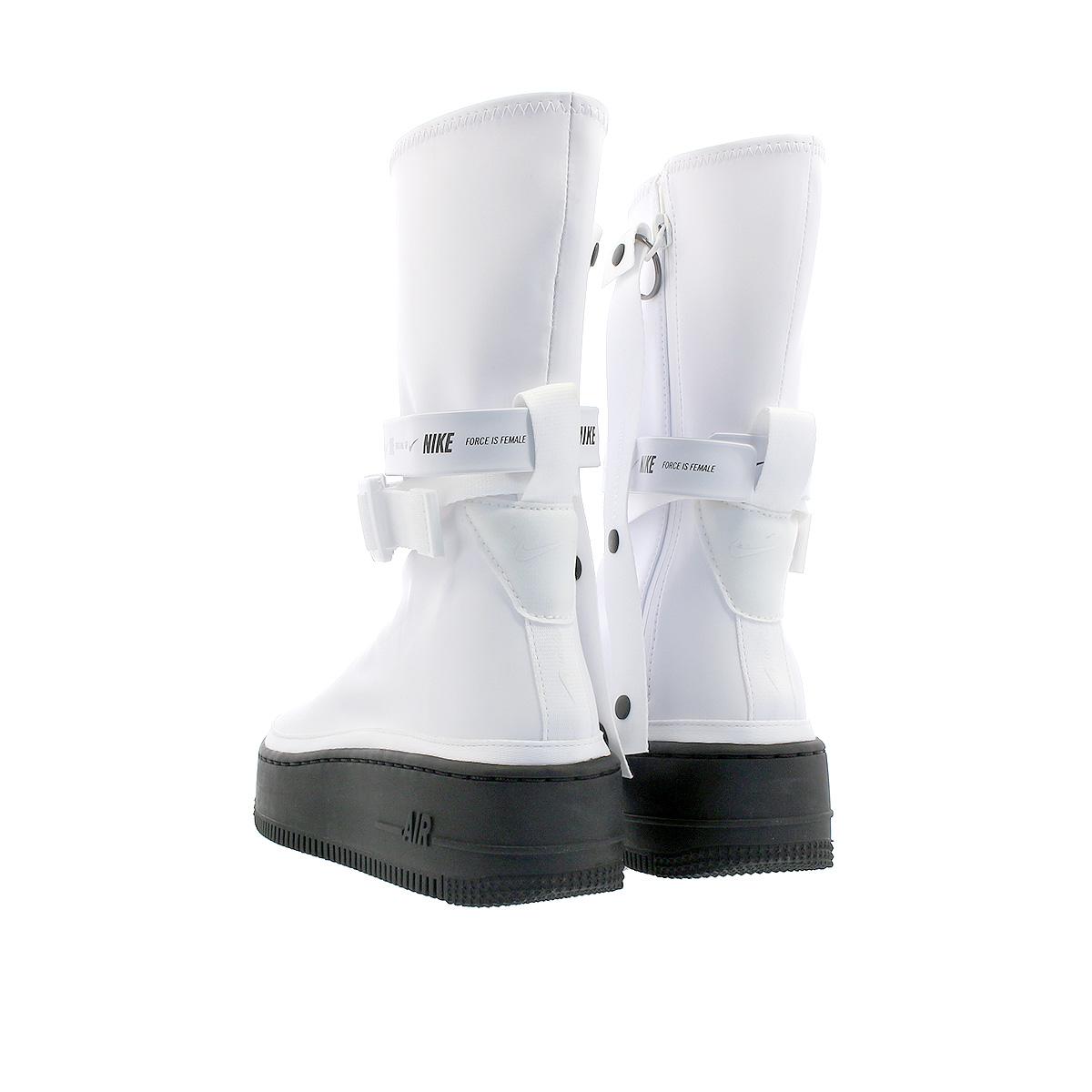 hot sales 721e8 d184c NIKE WMNS AIR FORCE 1 SAGE HI XX Nike women air force 1 sage high XX  WHITE/BLACK
