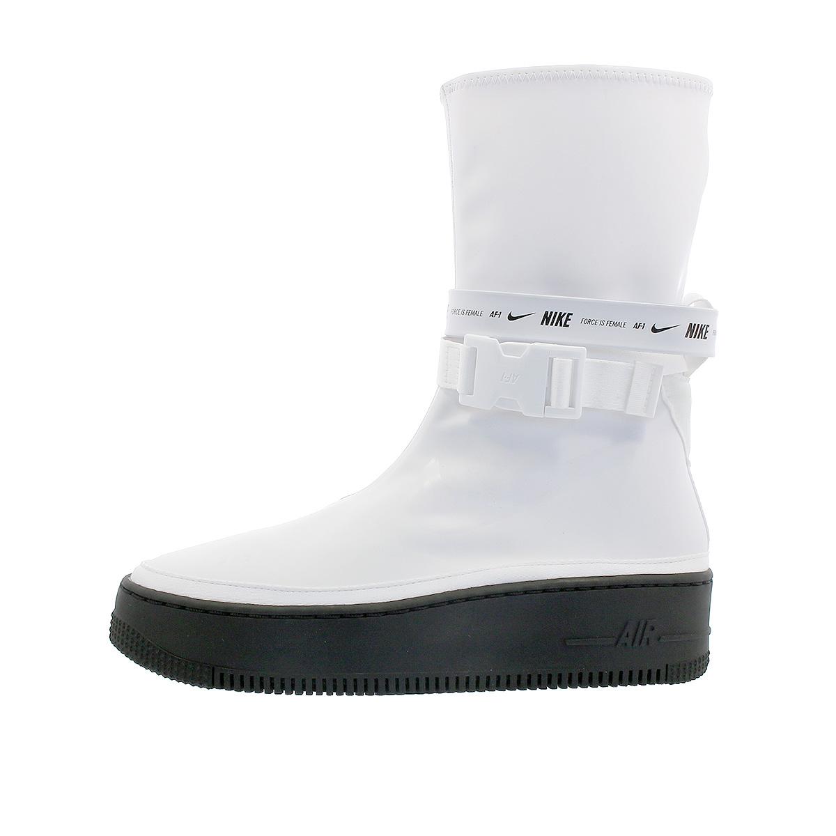 hot sales 004f4 ed646 NIKE WMNS AIR FORCE 1 SAGE HI XX Nike women air force 1 sage high XX  WHITE/BLACK