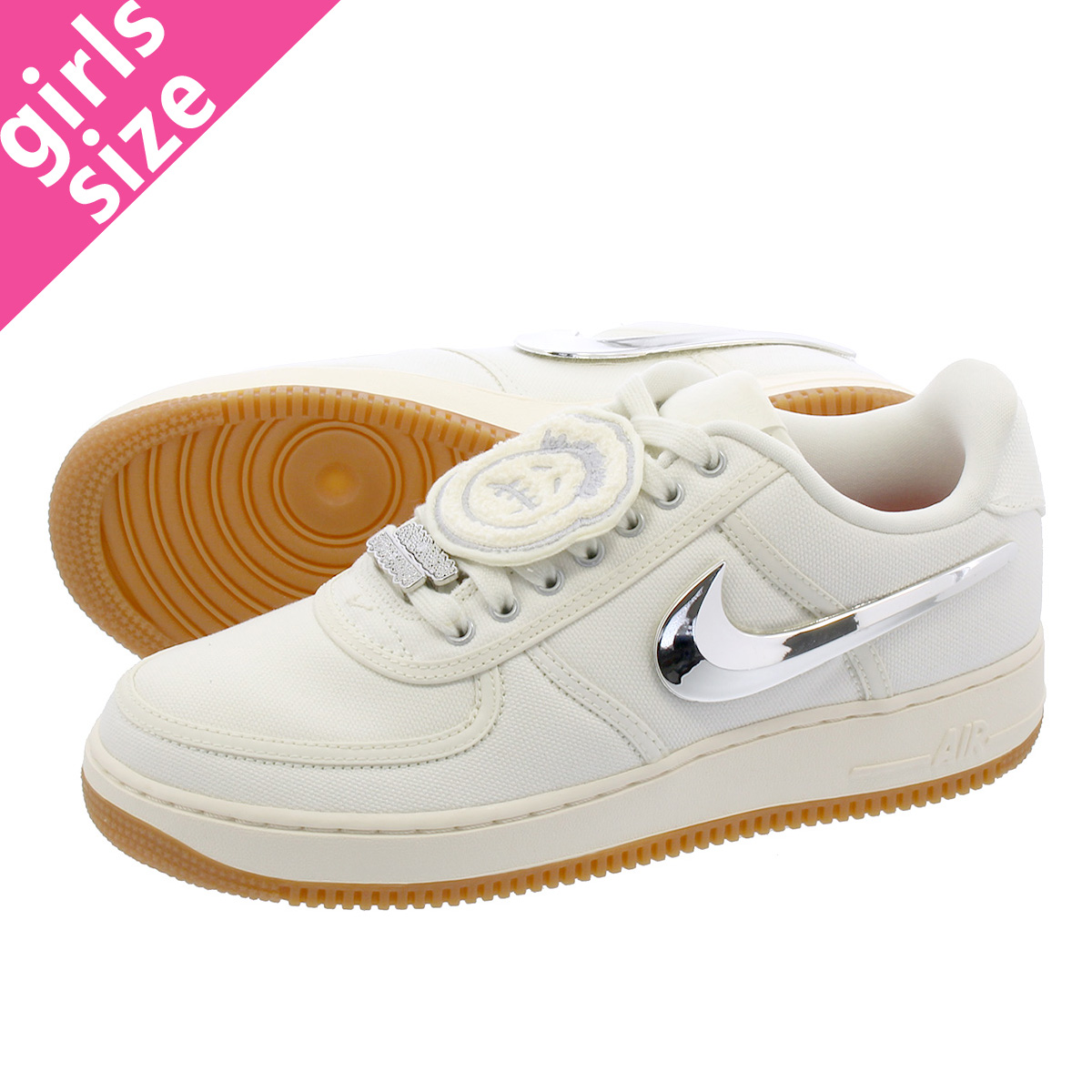 finest selection 44b63 a798b NIKE AIR FORCE 1 TRAVIS SCOTT Nike air force 1 Travis Scot SAIL aq4211-101