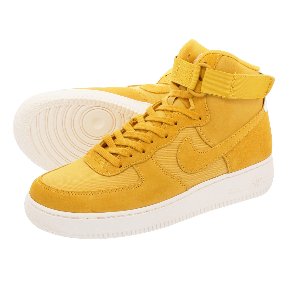 NIKE AIR FORCE 1 HIGH 07 SUEDE Nike air force 1 high 07 suede YELLOWOCHRESAIL aq8649 700