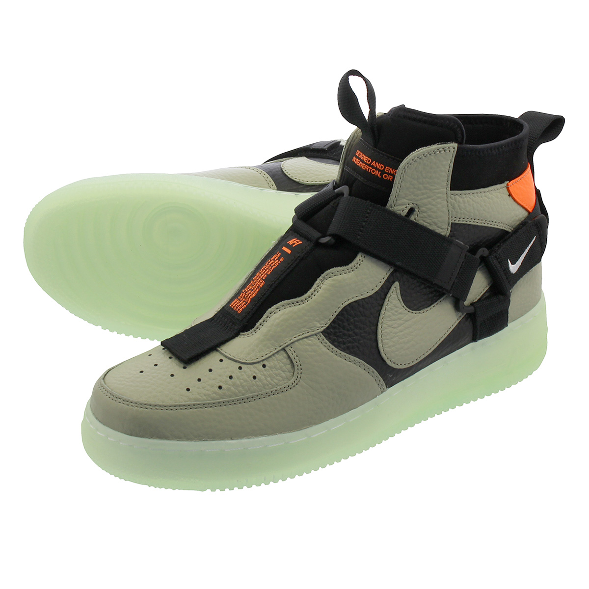 NIKE AIR FORCE 1 MID UTILITY Nike air force 1 mid utility SPRUCE FOGBLACKFROSTED SPRUCE aq9758 300
