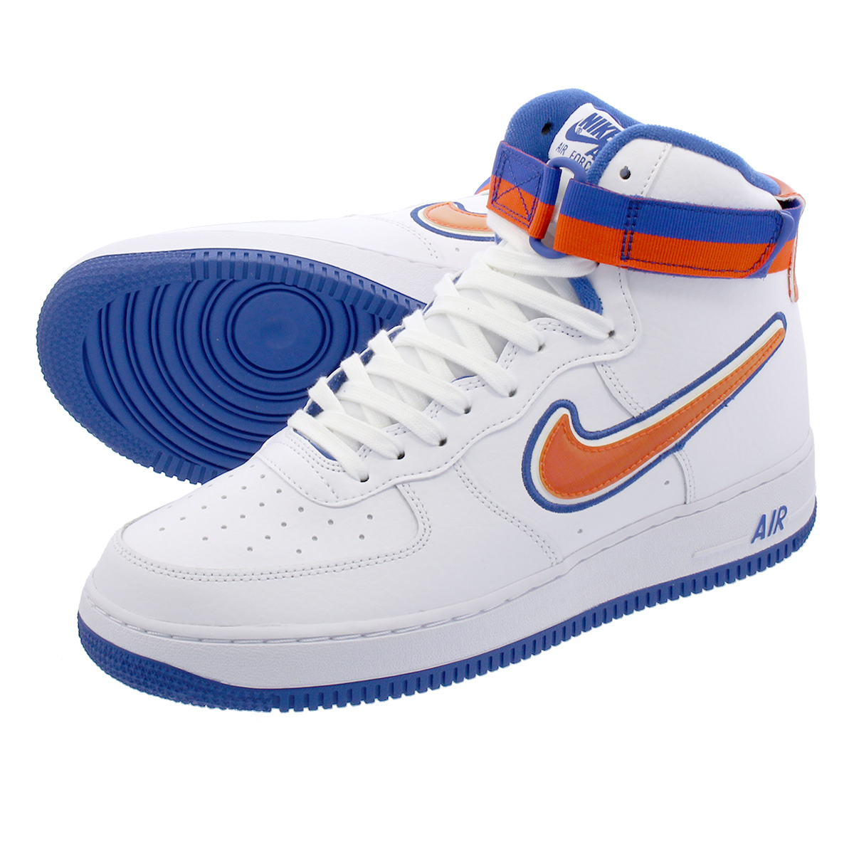 8eb48640130b9 LOWTEX PLUS  NIKE AIR FORCE 1 HIGH  07 LV8 SPORT Nike air force 1 high  07  LV8 sports WHITE TEAM ORANGE GAME ROYAL av3938-100