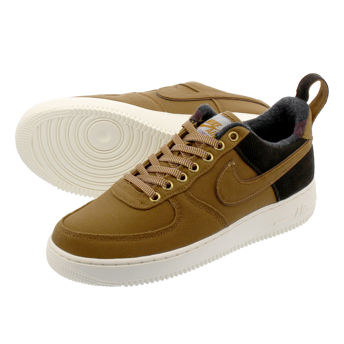 separation shoes b4040 17371 NIKE AIR FORCE 1  07 PRM Nike air force 1  07 LV8 premium car heart ALE  BROWN ALE BROWN SAIL av4113-200