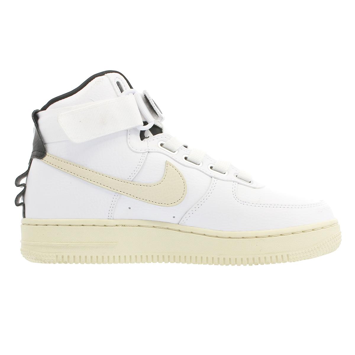 NIKE WMNS AIR FORCE 1 HI UTILITY Nike women air force 1 high utility WHITELIGHT CREAMBLACKWHITE aj7311 100