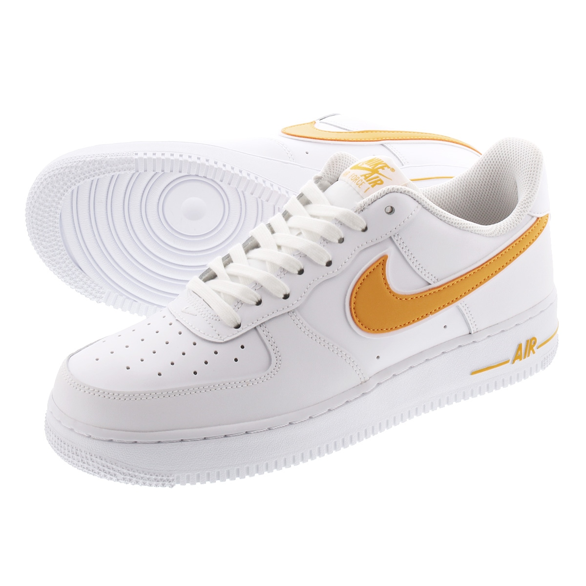 NIKE AIR FORCE 1 '07 Nike air force 1 '07 WHITEUNIVERSITY GOLD ao2423 105