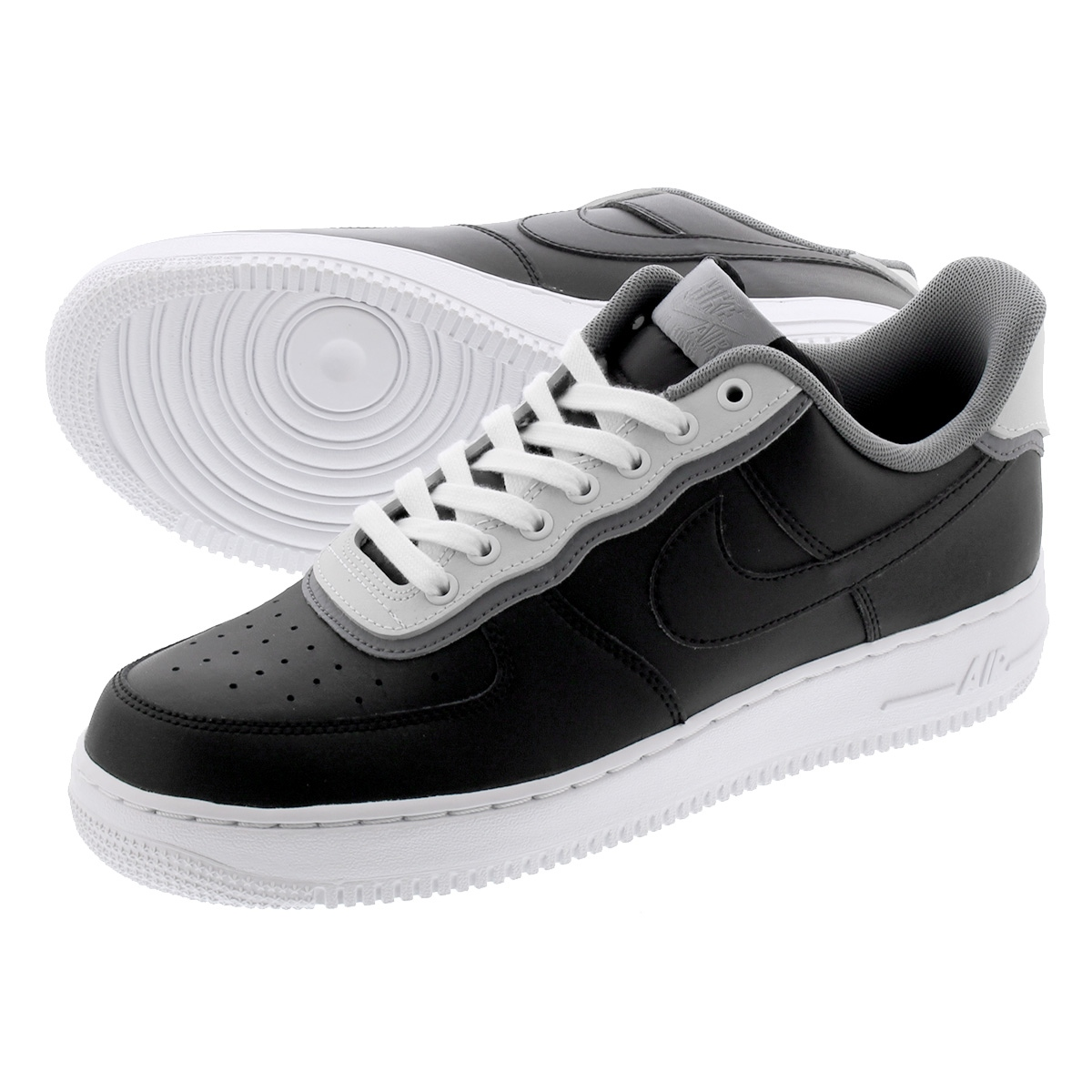 NIKE AIR FORCE 1 '07 LV8 1 Nike air force 1 '07 LV8 1 BLACKBLACKPURE PLATINUMCOOL GREY ao2439 002