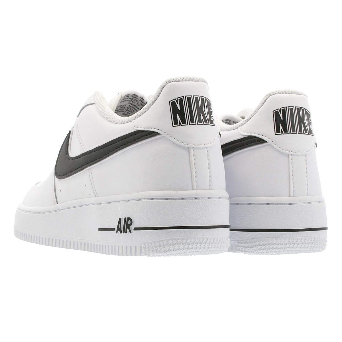 NIKE AIR FORCE 1 3 GS Nike air force 1 3 GS WHITEBLACK av6252 100