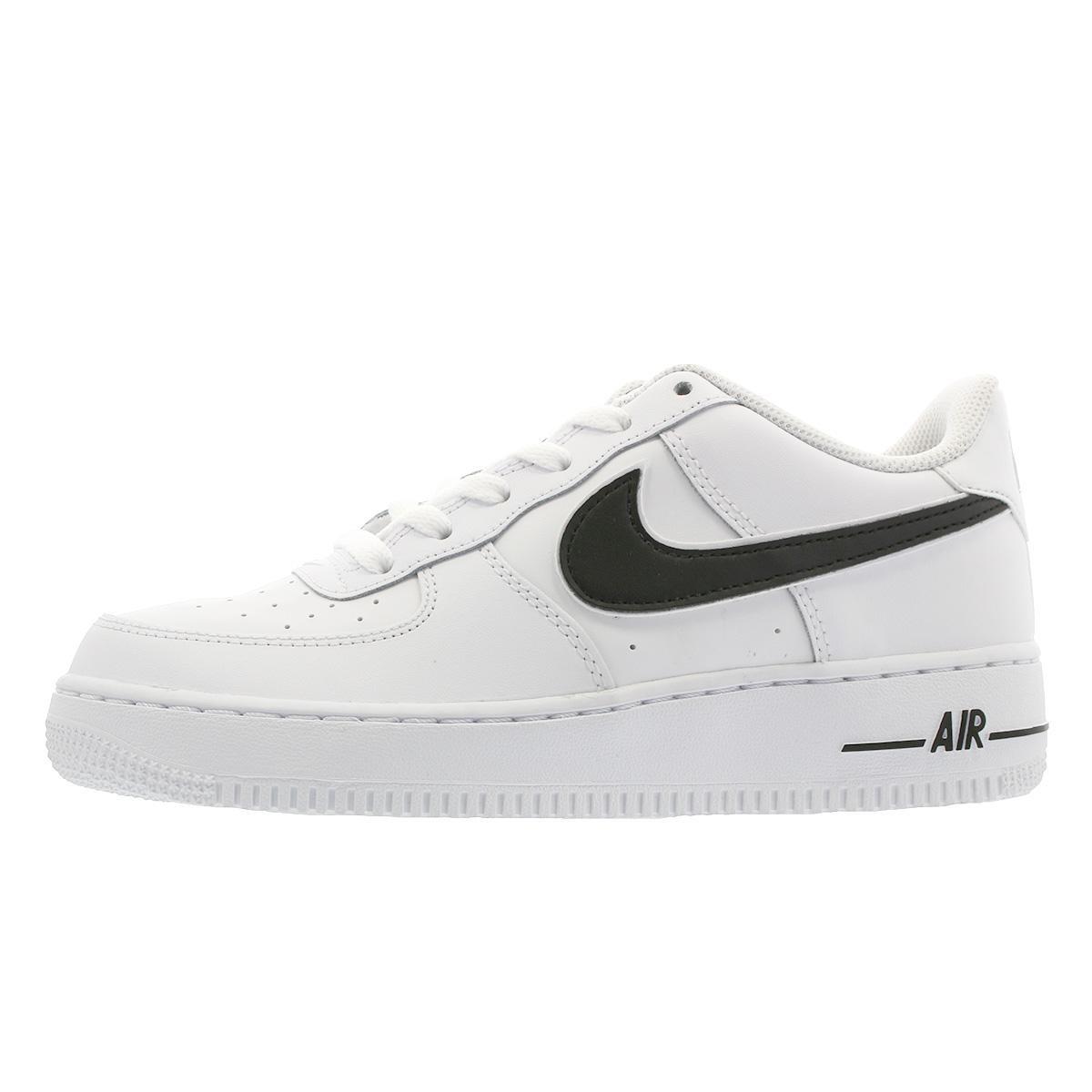nike air force 1-3 (gs) white/black