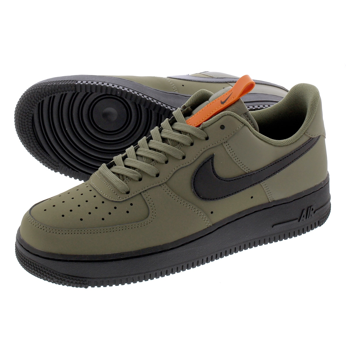 NIKE AIR FORCE 1 '07 Nike air force 1 07 MEDIUM OLIVEBLACKSTARFISH bq4326 200