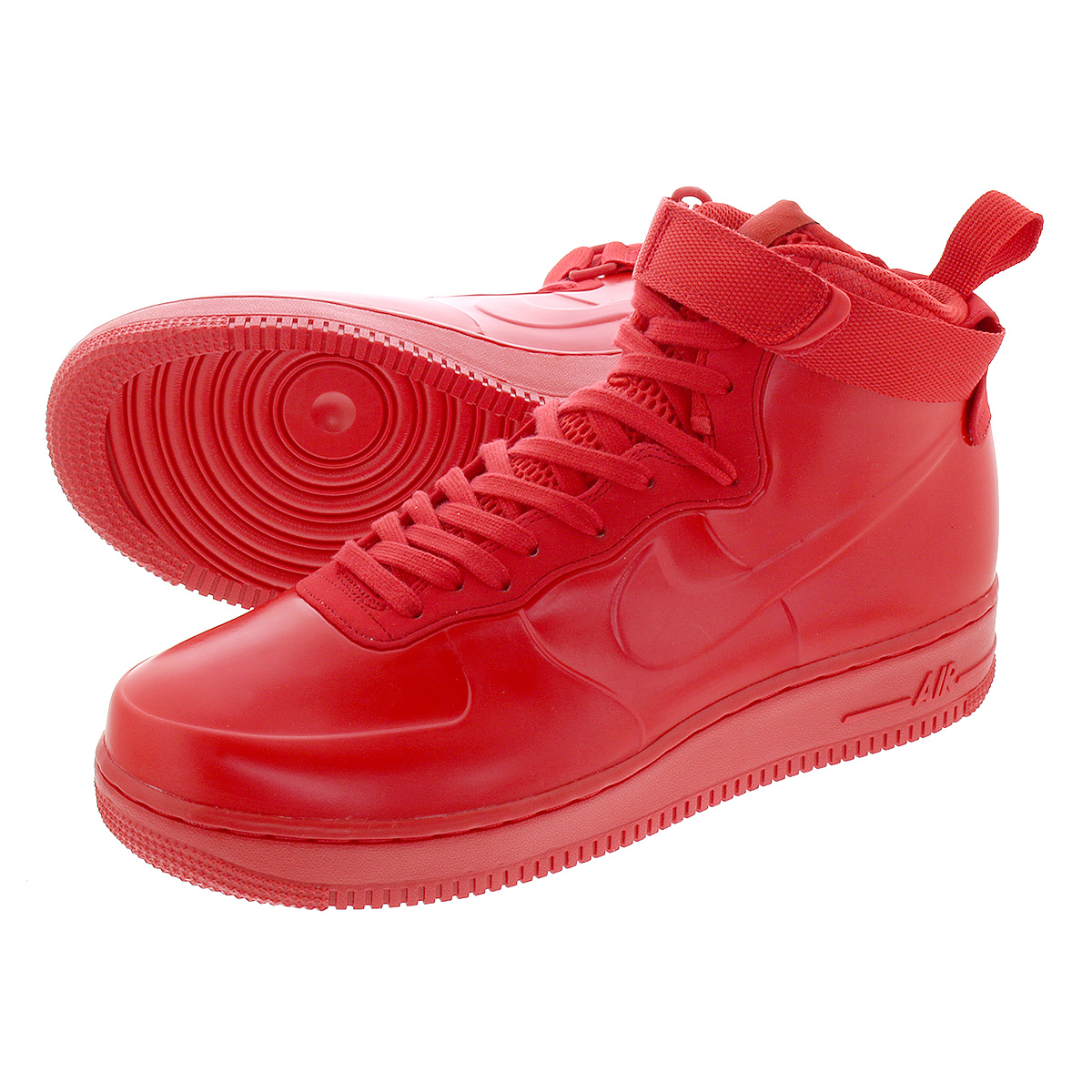 NIKE AIR FORCE 1 FOAMPOSITE CAP NA ナイキ エアフォース 1 フォーム ポジット カップ NA UNIVERSITY RED/UNIVERSITY RED bv1172-600