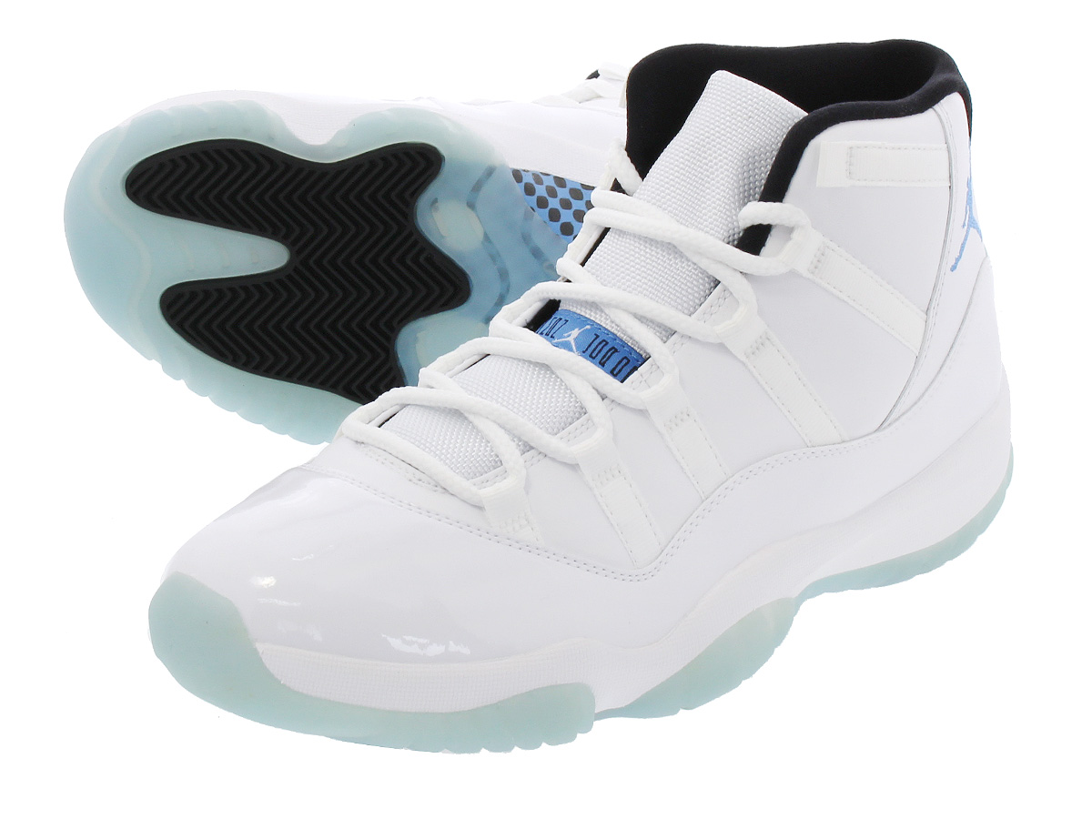 0bb09bb6 ... 61fbb4274a4c LOWTEX PLUS NIKE AIR JORDAN 11 RETRO WHITE LEGEND BLUE  LEGEND .