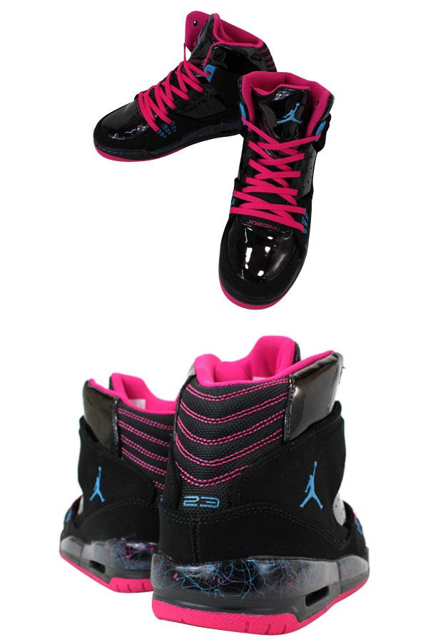 NIKE AIR JORDAN SC-1 GS Nike Air Jordan SC1 GS BLACK/PINK/BLUE