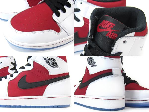 耐克空气约旦 1 复古 OG 耐克空气约旦 1 复古 OG 白/红/黑色男装运动鞋