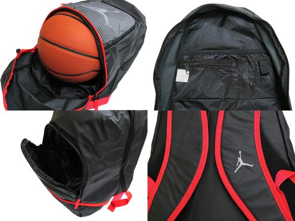 b6b42200db NIKE JUMPMAN GRAPHIC BACK PACK Nike Jordan Jumpman graphic backpack  BLACK INFRARED